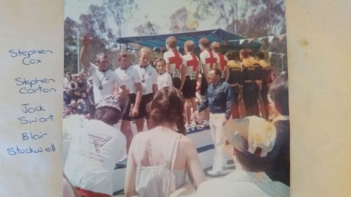 1982 Brisbane Commonwealth Games Bronze Medalists, 100km in 2.10!