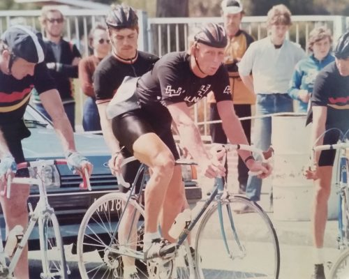 Start of NZ Road Champs 1982 Wellington