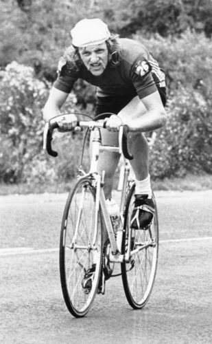 Trevor Foley at the 1973 Dulux Auckland - Wellington road race