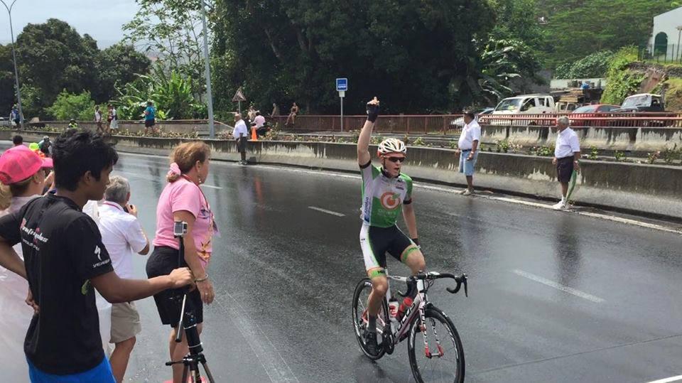 Nick Tour of Tahiti Stage 3 win